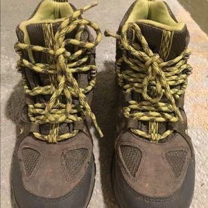 Boys LL Bean hiking shoes